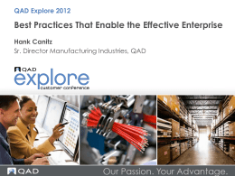 Best Practices That Enable the Effective Enterprise