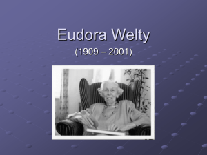 Eudora welty one writer's beginnings analysis essay