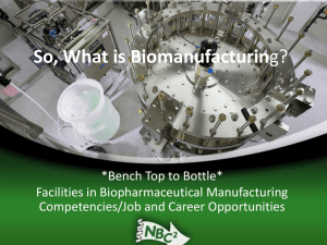 So, What is Biomanufacturing? - Bio-Link