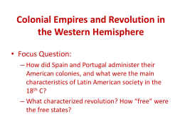 Revolution in South America - Leleua Loupe