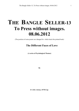 Book 14 - Bangle Seller