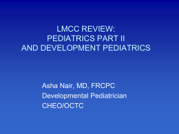 2013 LMCC Review Revised(Dr. Nair)