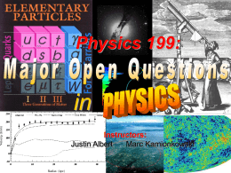 PowerPoint - Caltech High Energy Physics