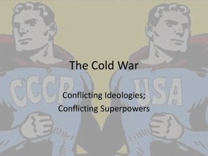 The Cold War - White Plains Public Schools