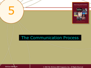 5 The Communication Process
