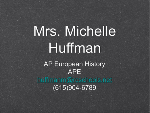 Mrs. Michelle Huffman