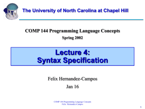 ppt - University of North Carolina at Chapel Hill