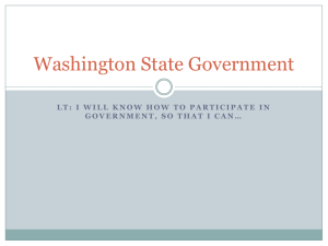 Washington State Government