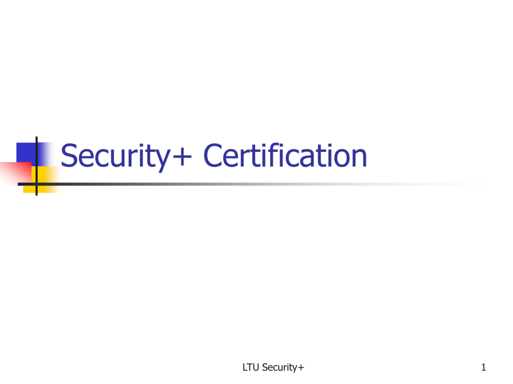 Security+Certification
