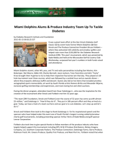 Miami Dolphins Alums & Produce Industry Team Up To Tackle