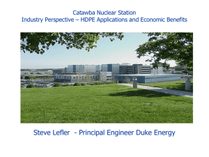NESCC 13-022 - Catawba Nuclear Power