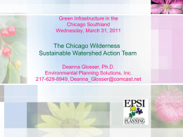 Chicago Wilderness' Sustainable Watershed Action Team (SWAT)