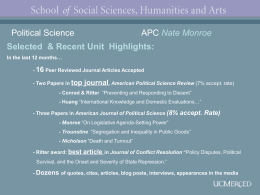Assembly Slides 21-30 - School of Social Sciences, Humanities and