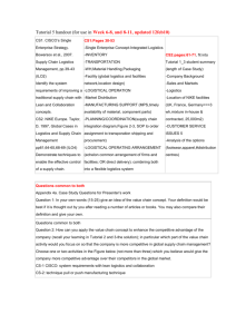 (revised) summary of Case Study 1 (CISCO) and Case Study 2