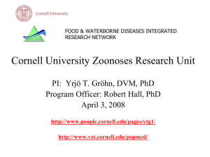 Zoonoses Research Unit
