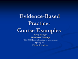 An Introduction to Evidence-Based Practice for Beginners