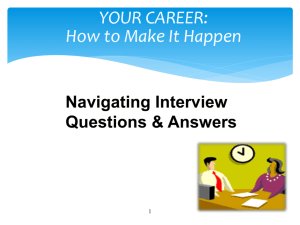 Chapter 14: Interview Questions and Answers