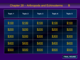 Chapter 28 Jeopardy Review B