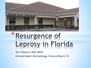Resurgence of Leprosy in Florida