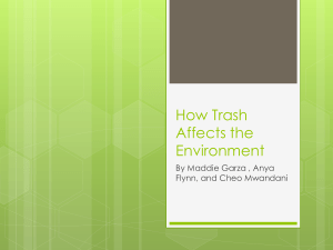 to see our Powerpoint! - Improving The Environment