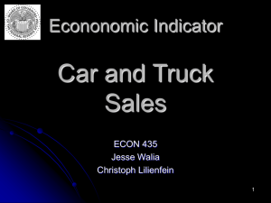 Car and Truck Sales