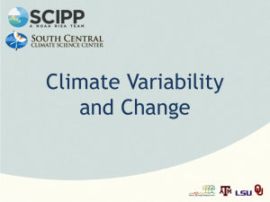 Climate Training 5 - Southern Climate Impacts Planning Program