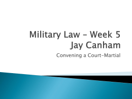 Military Law – Week_5_Slides