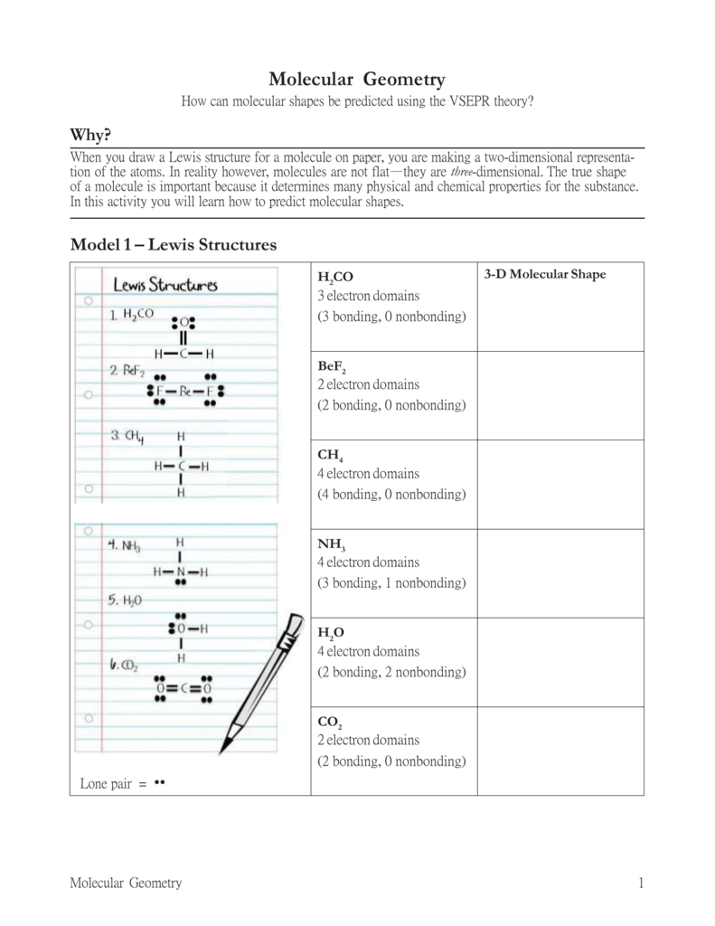 20 Molecular Geometry-S