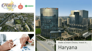 File - Happening Haryana Global Investors Summit 2016