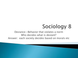 Sociology Final Exam Review