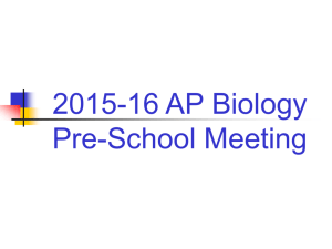 AP Biology Test Prep Book (soft bound) – in July