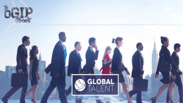 Global Talent Infosession example