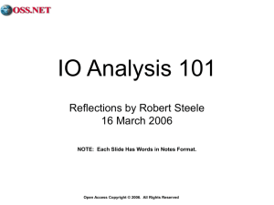 2006-03-16 IO Analysis 101