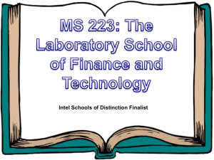 M.S. 223 The Laboratory School of Finance and - K