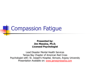 Compassion Fatigue - jamesjmessina.com