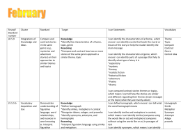 February pacing with learning targets and vocab July 2012