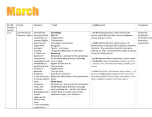 March pacing with learning targets and vocab July 2012