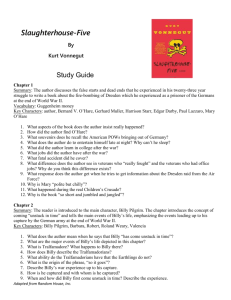 Slaughterhouse Five Study Guide