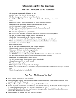 fahrenheit 451 part 1 essay questions Study guide questions for fahrenheit 451 burning bright how has beatty  given  we will write a custom essay sample on any topic specifically for you.