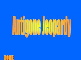 Antigone Critical Essays