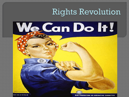 Rights Revolution - Beavercreek City School District