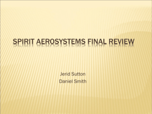 Spirit Aerosystems Concept Review