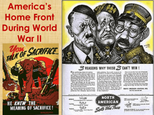 America's Home Front During World War II