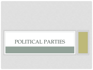 Political Parties - Miami East Schools