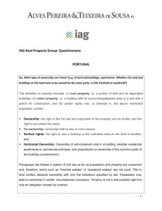 IAG Real Property Group: Questionnaire