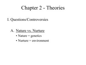 Chapter 2 - Theories
