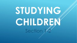 1-2 Studying Children