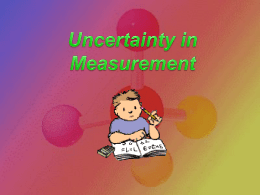 Day 1 Introduction to Chemistry and Measurement
