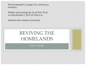 Lecture 4 Revive - Western New Mexico University