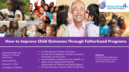 Powerpoint - Fathers and Families Coalition